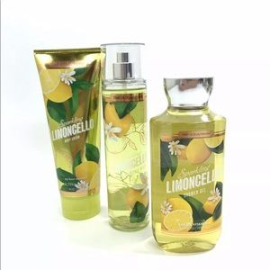 BATH & BODY WORKS Sparkling LIMONCELLO Bundle BBW